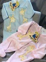 Spanish Baby Romper All in One Sleepsuit Boys Girls Newborn 0-3 3-6 M Blue Pink