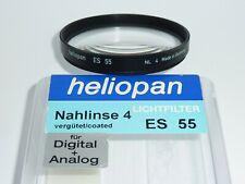 Heliopan  Nahlinse +4   Close-up +4   E55   55mm