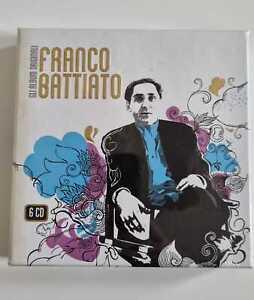 FRANCO BATTIATO GLI ALBUM ORIGINALI RARO BOX 6 CD SIGILLATO COLLEZIONE