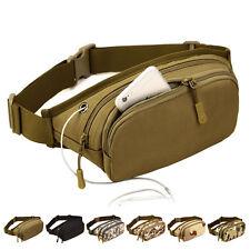 Men's Waterproof Nylon Military Tactical Sling Chest Fanny Pack Waist Bag