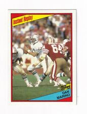 1984 Topps #124 Dan Marino Instant Replay ROOKIE Card! SWEET--35+ years old!