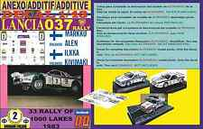 ANEXO DECAL 1/43 LANCIA 037 RALLY MARKKU ALEN 1000 LAKES 1983 (05)
