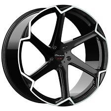 24X10 GIOVANNA DALAR X BLACK MACHINED RIMS BENZ LEXUS CHEVY HONDA BMW GMC TOYOTA
