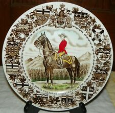 The Royal Canadian Mounted Police 10 Inch Collector Plate by Wood and Sons