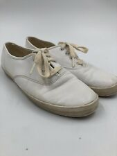 Keds Leather White Vintage Originals Women's Shoes Sneakers Size 7.0