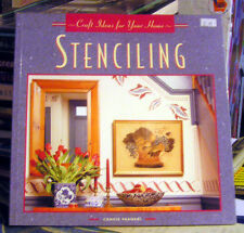 STENCILLING - CREATIVE IDEAS FOR YOUR HOME PAPERBACK BOOK