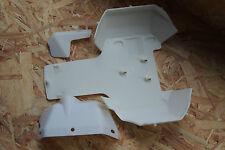 UNTERSCHUTZ aus Nylon passend für hpi rovan KM 5SC 5B  (BAJA 5T) WEIß