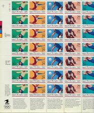 1992 29 cent Summer Olympics full Sheet of 35, Scott #2637-2641, Mint NH