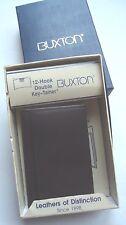 Buxton 12 loop Genuine Leather Key case, Brown