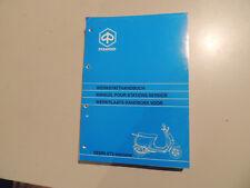 Werkstatthandbuch Vespa ET2 Iniezione 50ccm 1998 manuel d`atelier