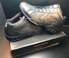 Converse Wade Icon Pro Leather Dwyane Wade #3 Rare Black/Black PE Size 12 BNIB