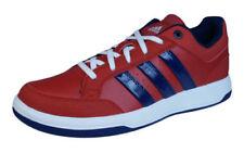 Zapatillas deportivas de hombre en color principal rojo de piel sintética