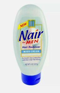 Original Formula Nair for Men Hair Removal Body Cream 8 oz Bottle NEW