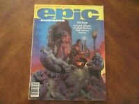 Epic Illustrated Magazine 2 Marvel 1980