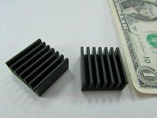 12 Thermalloy Aluminum Heatsinks .904 x .910 x .397 Laser Diode, Processor Fan