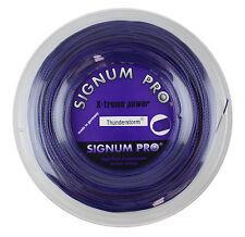 Signum PRO THUNDERSTORM - 1.30 mm-Stringa di tennis-Viola Violet-Mulinello 200 M