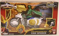 Power Rangers Mystic Force - Lion Speeder With Green Ranger and Bonus DVD(MISB)