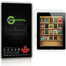 CitiGeeks® iPad 2 Screen Protector Anti-Glare Matte LCD Saver Shield [2-Pack]
