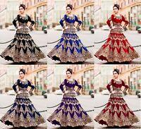 Lehenga Choli Bollywood Pakistani Designer Lengha Indian Wedding Wear Lehengha