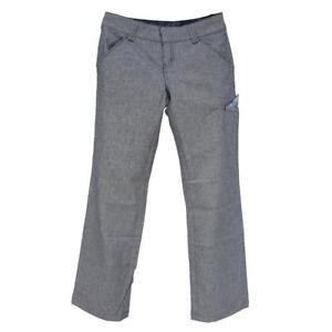 Oakley Birdies Pants Womens Size 10 AU 6 US Ladies Cotton Navy Blue Casual Pant