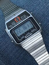 Omega Memomaster 1980s Digital Alarm On Bracelet All Working!