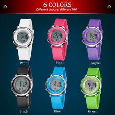 OHSEN 1605 Digital Kinder Uhr Stoppuhr Sportuhr Alarm Armbanduhr.