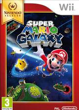 Super Mario Galaxy Select Nintendo WII IT IMPORT NINTENDO