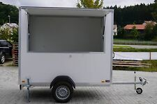 Verkaufsanhänger, Imbisswagen, Verkaufswagen, Imbissanhänger, 3x1,5x2m