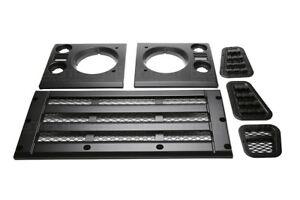 Land Rover Defender Standard Style Satin Black Face Lift Kit Part# BA9455
