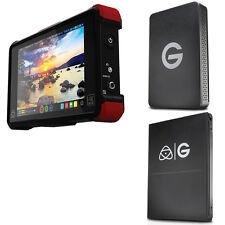 Atomos Ninja Flame(ATOMNJAFL2) w/ Gtech Master Caddy HD(1TB) & ev Series Reader