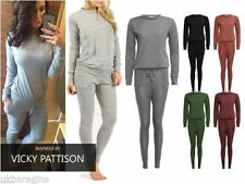 Polyester Tracksuit Plain Hoodies & Sweats for Women