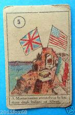 figurines figuren picture cards cromos figurine vav # 5 anni 40 montecassino ggg