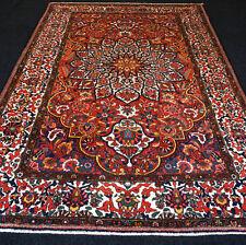 Alter Orient Teppich 325 x 220 cm Perserteppich Handgeknüpft Old Red Carpet Rug