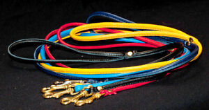 Dog Lead - Luxurious Soft, Nappa Leather Leads with Trigger Clip