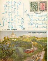 237 - Colonie, Libia - Cartolina da Tripoli ad Alessandria, 1937