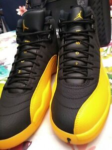 Air jordan 12 university gold black retro