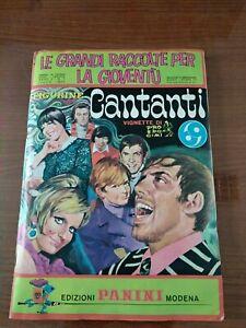 Album Figurine PANINI CANTANTI -COMPLETO- 1969 originale