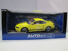 73006 AUTOart Ford Mustang mach 1 - 40th Anniversary 2004 Screaming Yellow 1:18