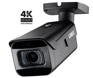 New Lorex 4K Bullet IP Camera LNB9272 Motorized Varifocal Zoom Audio LNB9272S