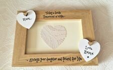 MOTHER OF THE BRIDE Personalised photo frame Mum Mam Mom Gift Present wedding
