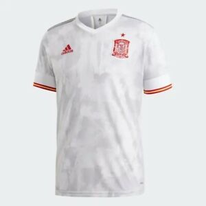 Adidas Men's 2020-2021 Spain Away Football Soccer Jersey EH6514 Size Large