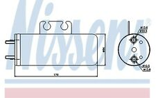 NISSENS Filtro deshidratante, aire acondicionado PEUGEOT 206 206+ 95316
