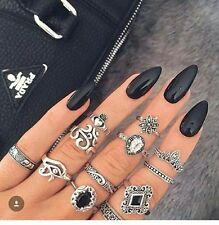 CREATIVE NAIL DESIGN BY SHELLAC VERNIS A ONGLES TENUE EXCELLENTE 259 NOIR BLACK
