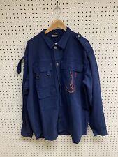 Vintage Karl Kani Jeans Blue Chore Jacket Sz XL