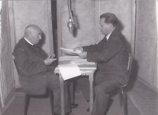 Paul Claudel à la radio Original Vintage 1955
