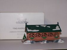 Two Rivers Bridge Dept 56 Heritage Collection 5656-1