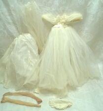 VINTAGE TAGGED MADAME ALEXANDER ELISE BRIDE OUTFIT TLC $49.99
