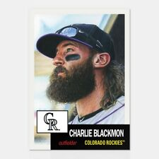 2018 Topps Living Set #31 Charlie Blackman ~ In Stock