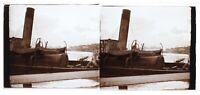Ville A Identificare Francia Foto Stereo Placca Da Lente Th4L6n6 Vintage