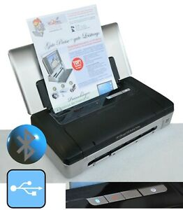 USB & Bluetooth Small Printer HP Officejet 100 Included Ink For Win XP 7 8 10